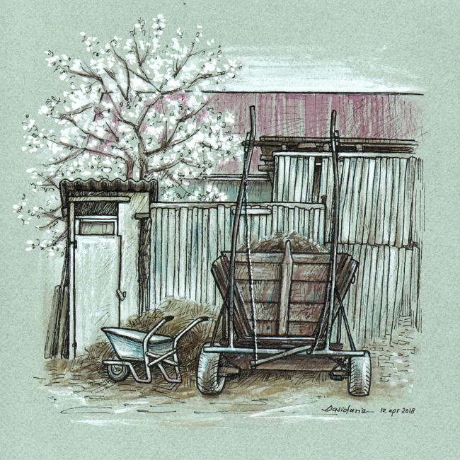 Countryside spring by dasidaria-art