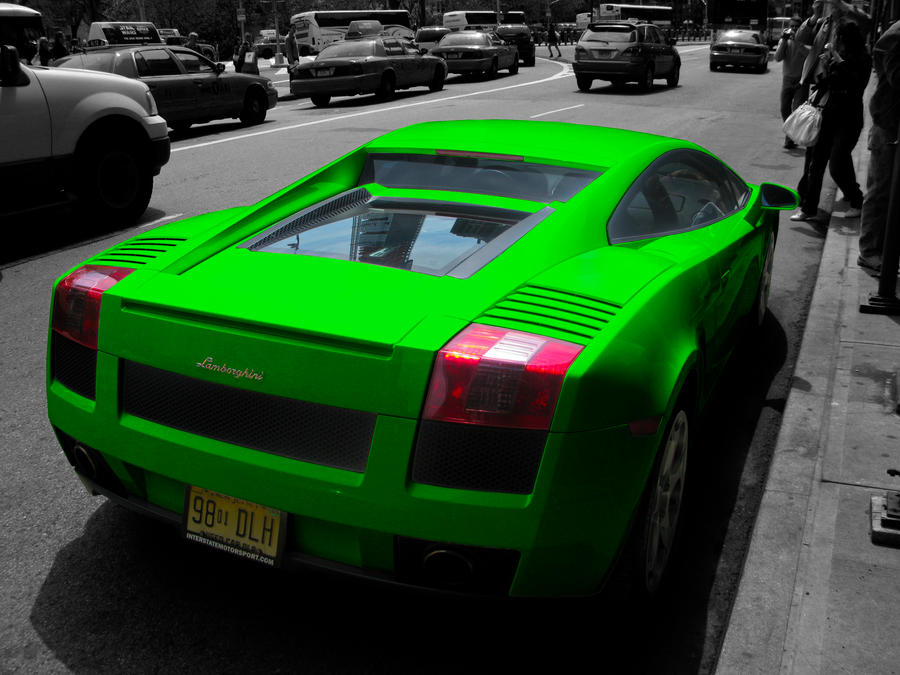 Green Gallardo by Passager-Noir