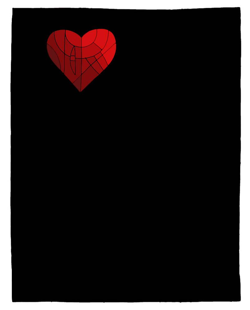 Valentine Card by Passager-Noir