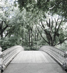 Infrared Bridge by Passager-Noir