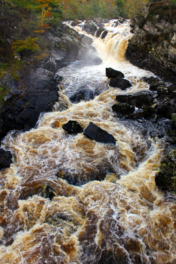 Autumn Water by David-Manson