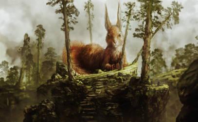 squirrel by Headdl