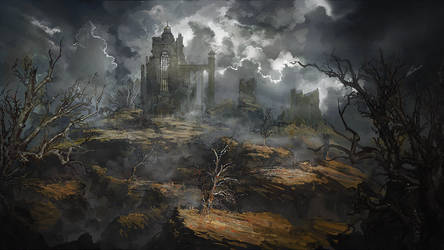 ruins by Headdl