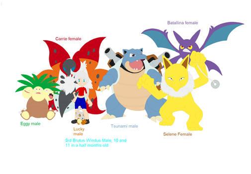 Bj's Kanto team