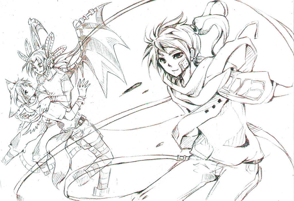 Sketches by Doodl3zfreaky