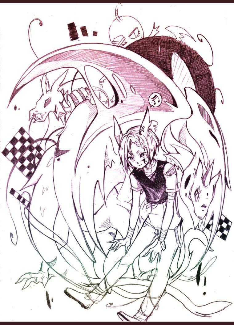 Dem doodle by Doodl3zfreaky
