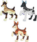 Doberman pack 1 (OPEN 2/3) by Havocqueen