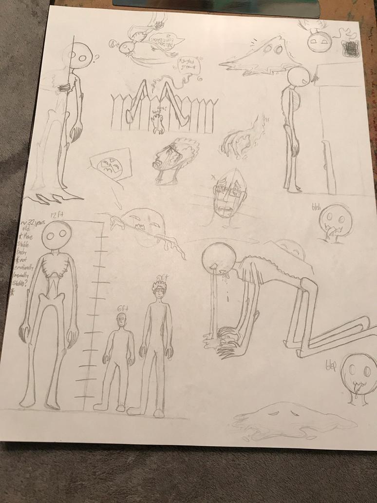 Doodle Dump #1 by StalkerNinja01