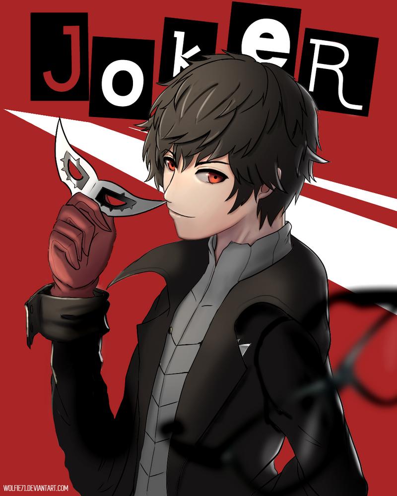 Akira Kurusu / Joker - Persona 5 by Wolfie71