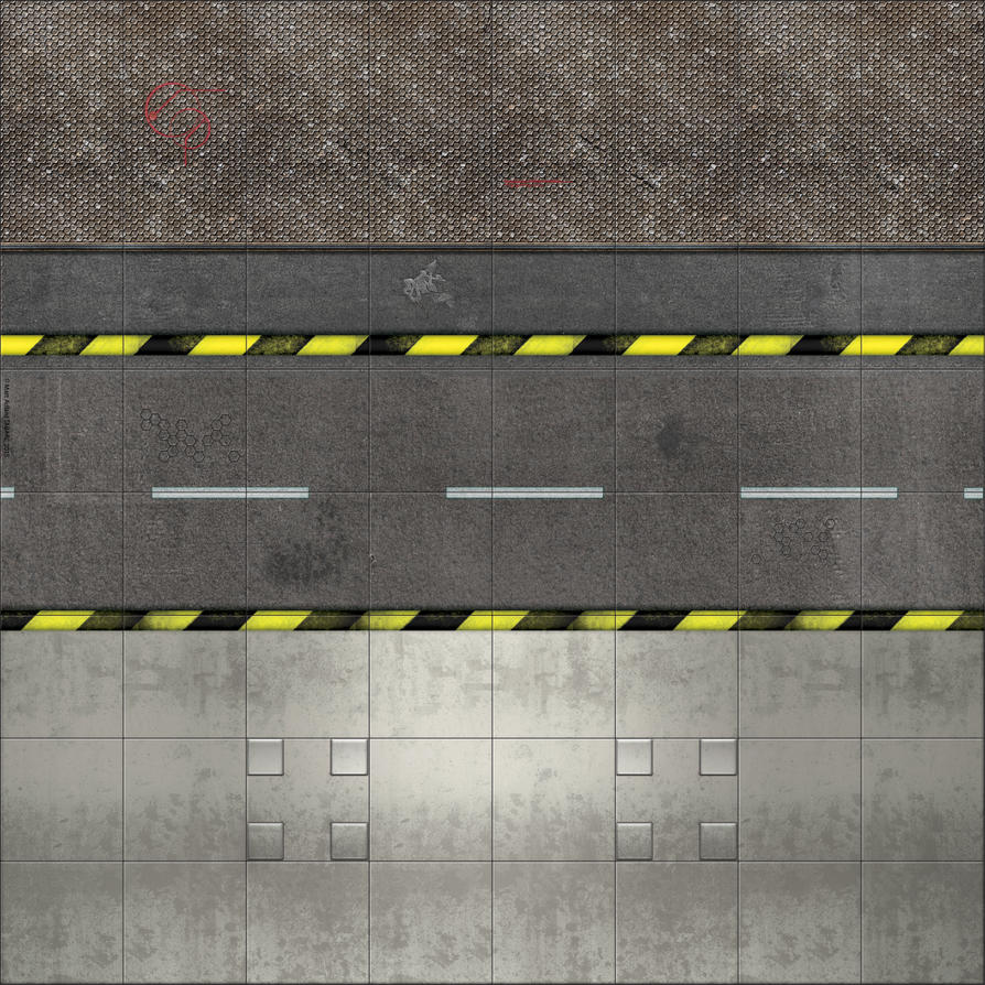 Deadzone style map  - mIDDLE UPPER Clean by matt-adlard