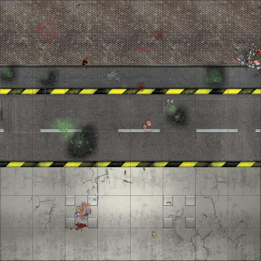 Deadzone style map  - mIDDLE UPPER dirty by matt-adlard