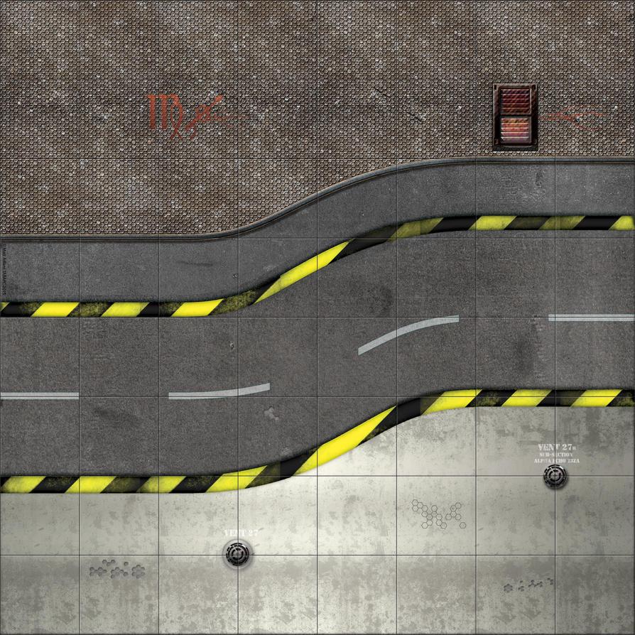 Deadzone style map  - S-Bend Clean by matt-adlard