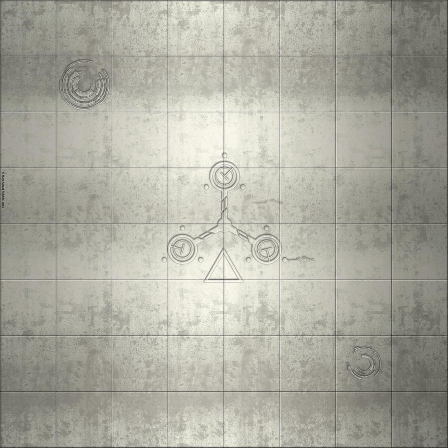 Deadzone style map- Ceramic by matt-adlard