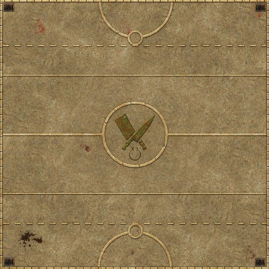 Butchers gaming Mat by matt-adlard