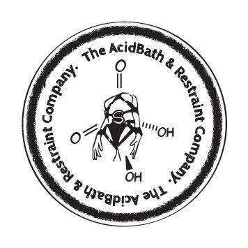 Tabarc - The Acid bath and Restraint  Compay Logo by matt-adlard