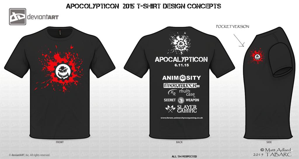 Splat - T-shirt concept by matt-adlard