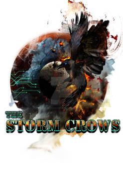 Storm Crows Ship Pin up Art
