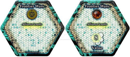 Frontier Wars Hex Card Card Back