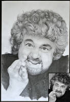 Beppe Grillo by th3blackhalo