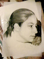 Self-portrait by th3blackhalo