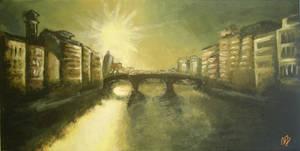 Da Ponte Vecchio by th3blackhalo