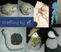 Crafting - Crochet 1.0 by th3blackhalo