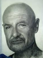 Terry O'Quinn by th3blackhalo
