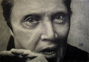 Christopher Walken by th3blackhalo