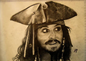 Jack Sparrow by th3blackhalo