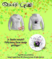 Jr Hoodie restyle at CafePress by th3blackhalo