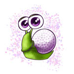 Purple Golf Oscar