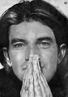 Antonio Banderas Portrait by th3blackhalo