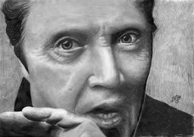 Christopher Walken portrait HQ by th3blackhalo
