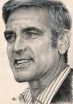 George Clooney portrait HQ