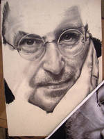 Steve Jobs Tribute WIP 02 by th3blackhalo