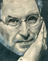 Steve Jobs Tribute by th3blackhalo
