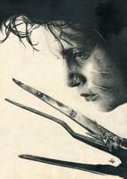 Edward Scissorhands by th3blackhalo