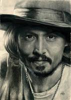 Johnny Depp by th3blackhalo