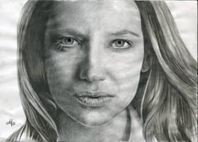 Wavey Anna Torv Olivia Dunham by th3blackhalo