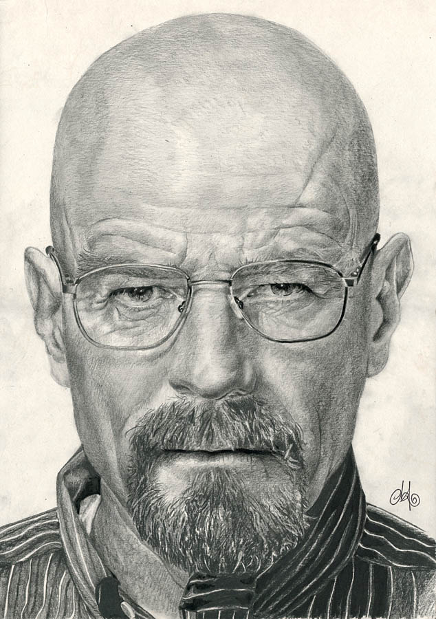 Breaking Bad 01 Walter White by th3blackhalo