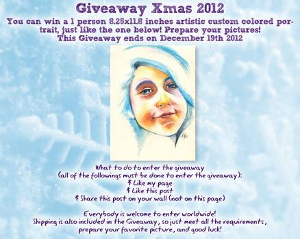 Xmas 2012 Giveaway