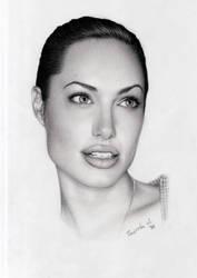 Angelina Jolie by Kosharik