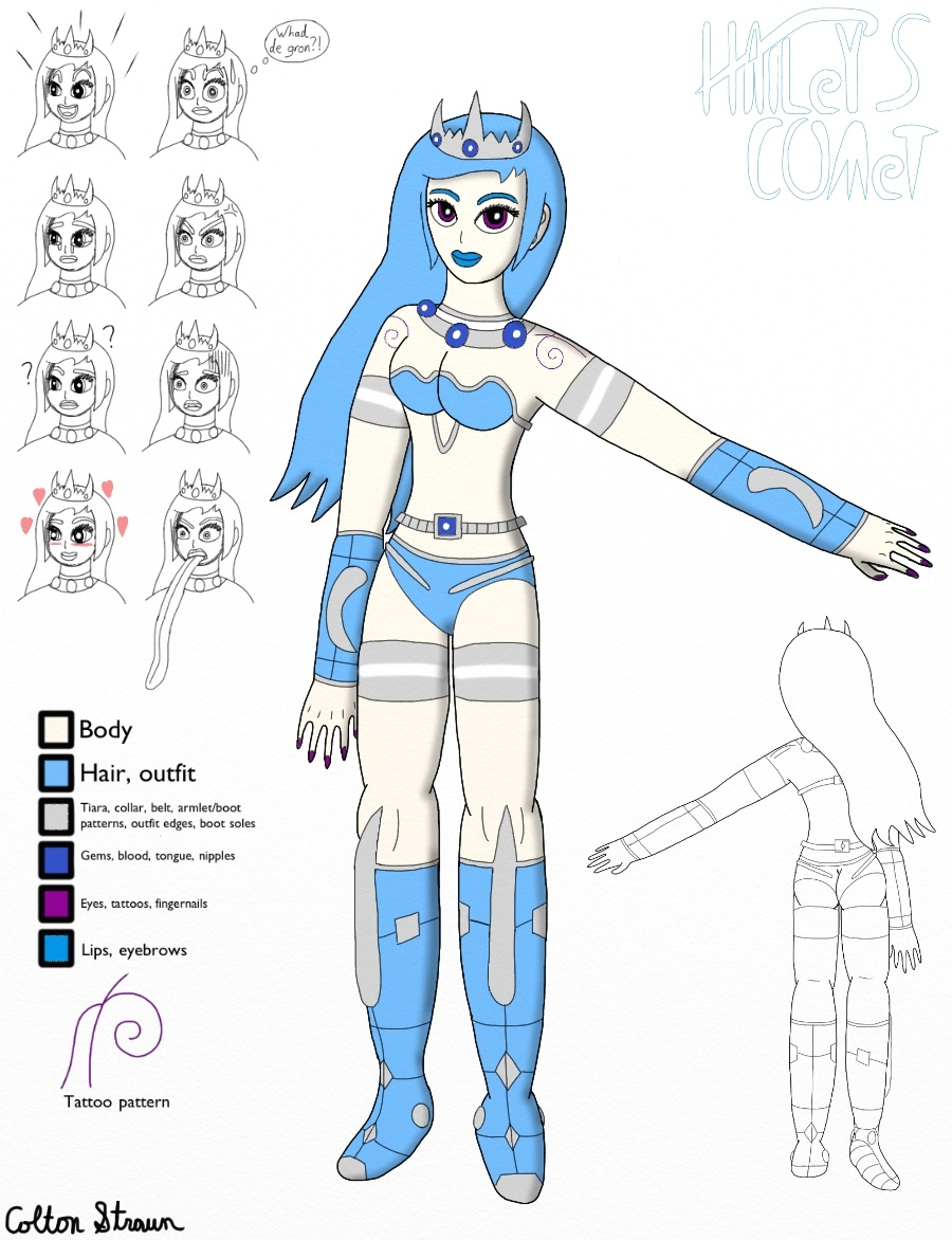 Lahdney (Final Design) by CometColt