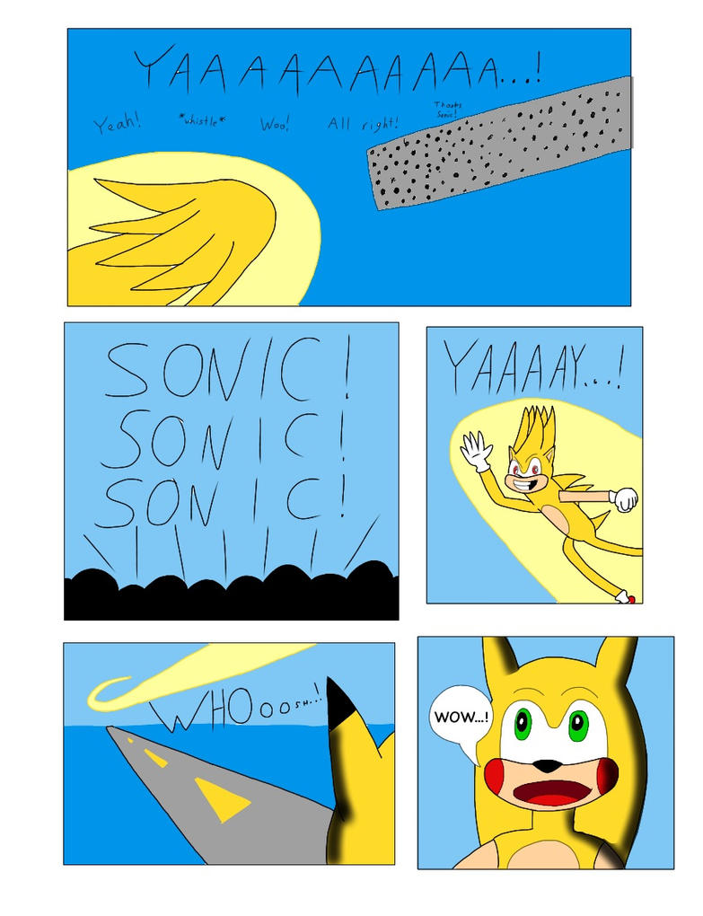 Sonichu #0, Page 16 by CometColt