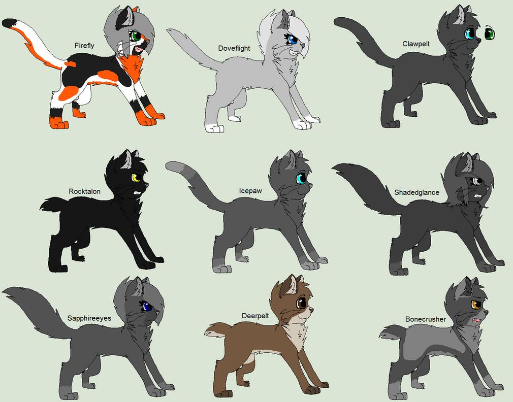 Free Warrior Cat Ocs