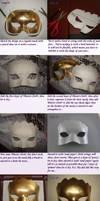 The Hellequin (Caha) mask tutorial