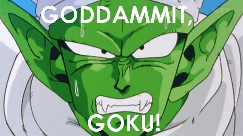 GODDAMMIT, GOKU by gokingdomhearts917