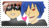 KIDNAPPER X HITOSHI SAN STAMP by Laeiv