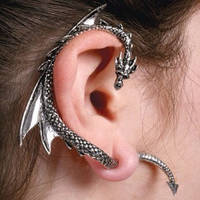 The Dragon's Lure Ear Stud