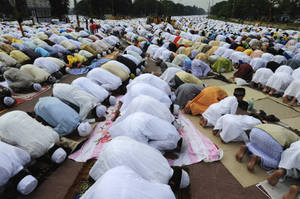 Mass prayer Kolkata